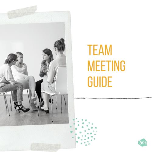 Team Meeting Guide Blog