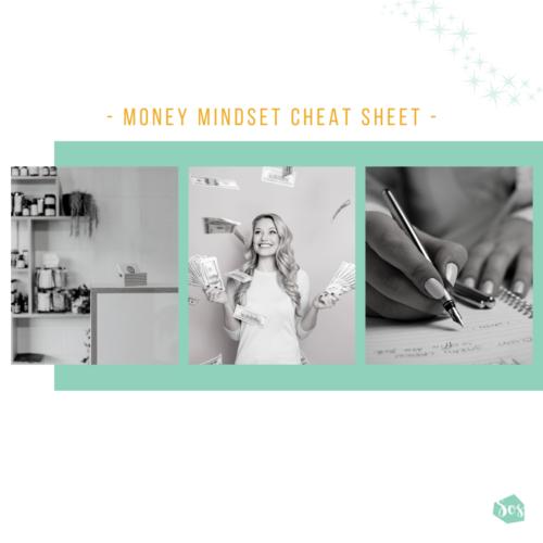 Money Mindset Cheat Sheet